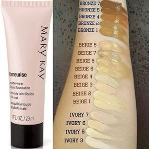 Mary Kay timewise liquid foundation in ivory 7